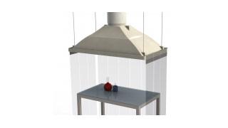 hotte aspirante industrielle maison design. Black Bedroom Furniture Sets. Home Design Ideas
